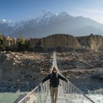 Travelmate Backpacker Himalaya Cold Suspension Bridge