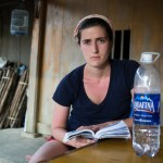 Travelmate Backpacker Contemplating Serious reading homestay Vietnam