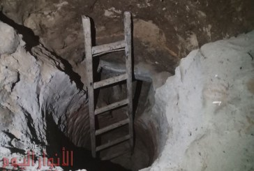 ضبط 3 عمال خلال التنقيب عن آثار بمنزل أحدهم بالفيوم