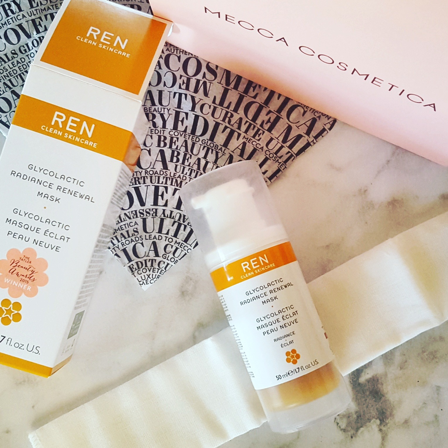A new discovery: Ren Glycolactic Radiance Renewal Mask