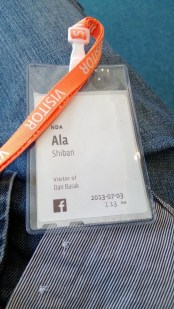 Visiting Dan @FaceBook