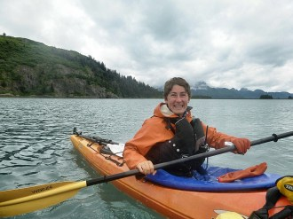 Our awesome guide, Laurie Cerws