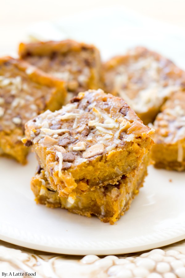 Pumpkin Pie Dream Bars | A Latte Food