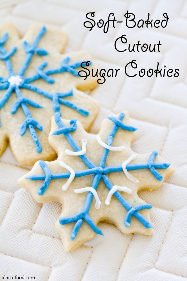 Soft-Baked Sugar Cookies | A Latte Food