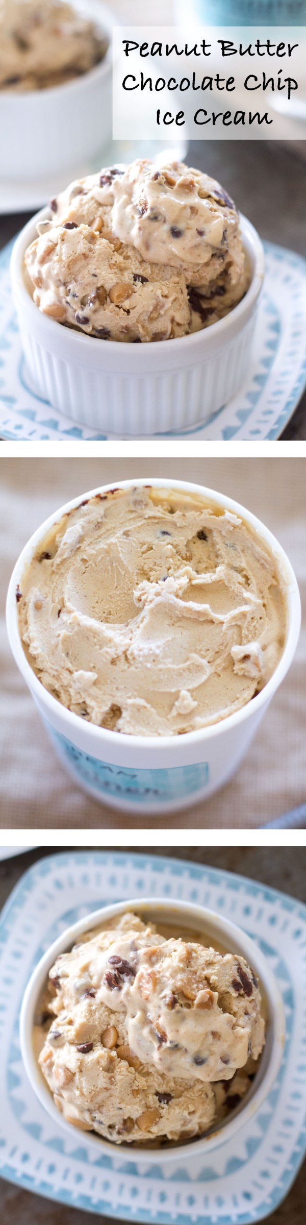 Double Chocolate Peanut Butter Ice Cream Recipe — Dishmaps
