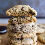Cookies and Cream Chocolate Chip Pudding Cookies