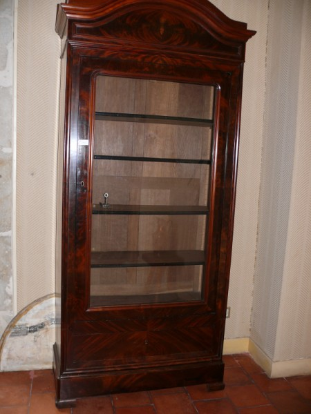 Vitrine biblioth que louis philippe meuble ancien for Antiquite meuble