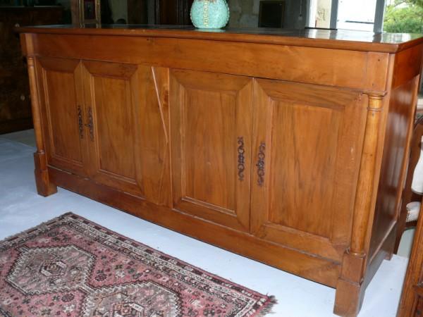 Enfilade 4 portes en cerisier albert antiquit for Albert tremblay meuble