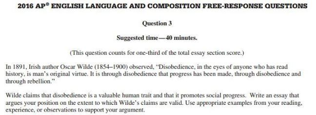 How to Get a 9 on Argument FRQ in AP English Language