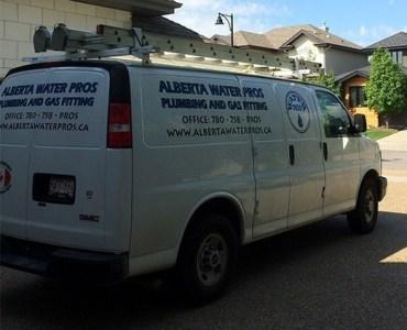 Gas Fitting Van