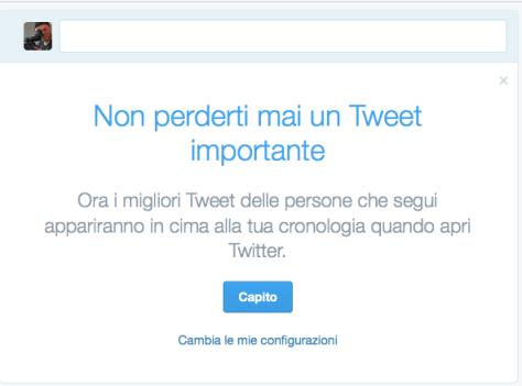 Algoritmo Twitter - Non perderti mai un Tweet importante