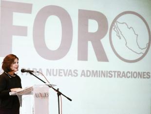 Gladis López Blanco, presidenta Ejecutiva de Alcaldes de México.