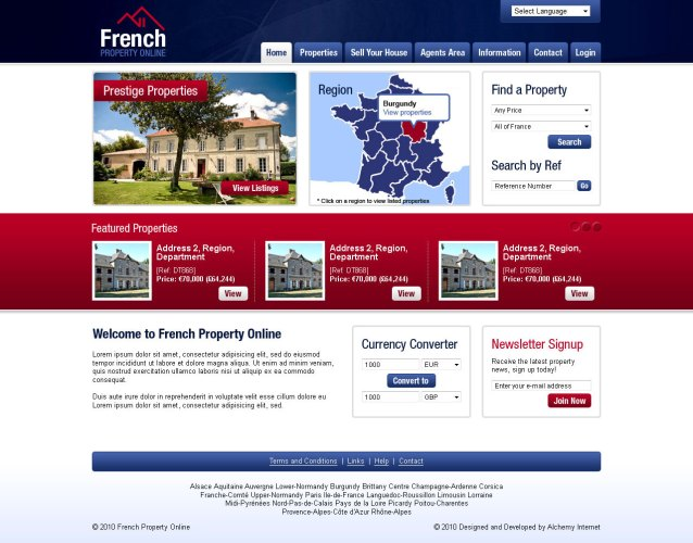 French Property Online - Home