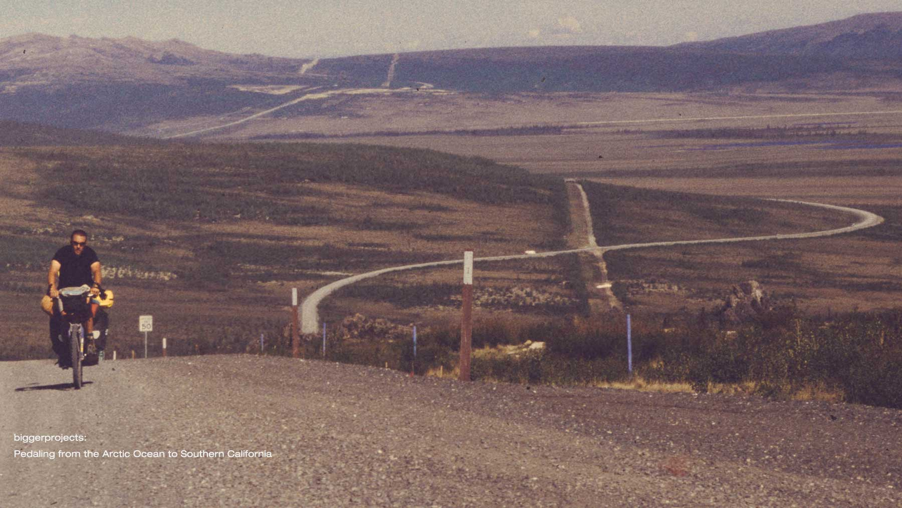 Pedaling from the Arctic Ocean through Alaska, Yukon, BC, Washington, Oregon, and California