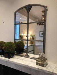 Swedish Antique Small Slow Arch Window Mirror swedish ...