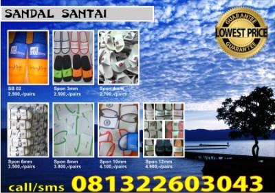 Sandal Souvenir Wisata Sandal Wisata Februari Produksi Sandal