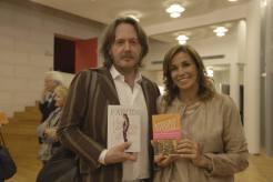 Aldo Dalla Vecchia con Cristina Parodi