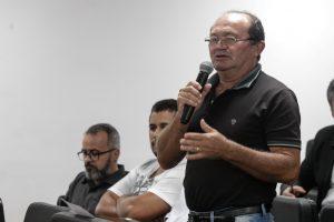 """OBSTÁCULOS - """"Agricultor é sofrido, e na hora que mais precisa, a do financiamento, ele enfrenta esses empecilhos"""", relatou Vicente Ferreira. Foto:Nando Chiappetta"""