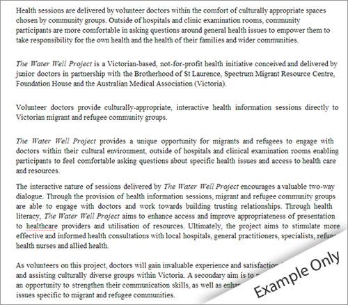 Statement of purpose essay example - purpose statement template