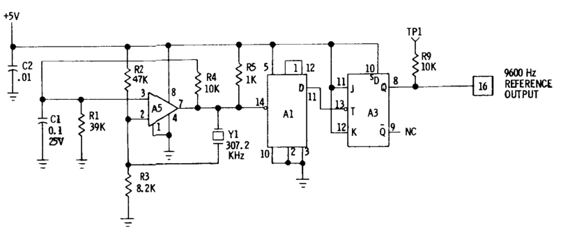 reference oscillator schematic