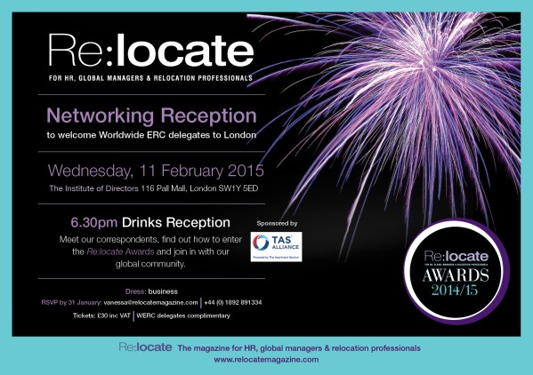 Re:locate Global Networking Reception