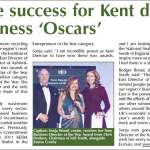 IoD awards, Kent Business, 03/05/12
