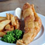 Kentish beer battered cod