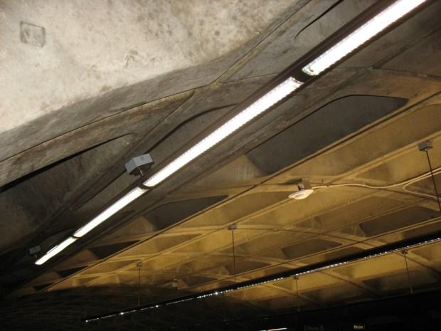 Direct light fixture detail