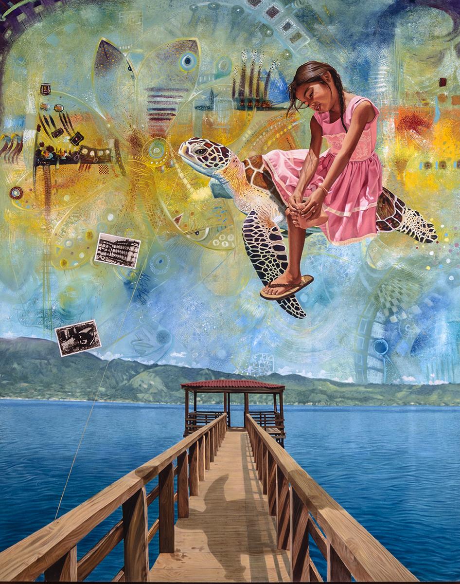 Pasajera en trance - Alex Cuchilla - El Salvador