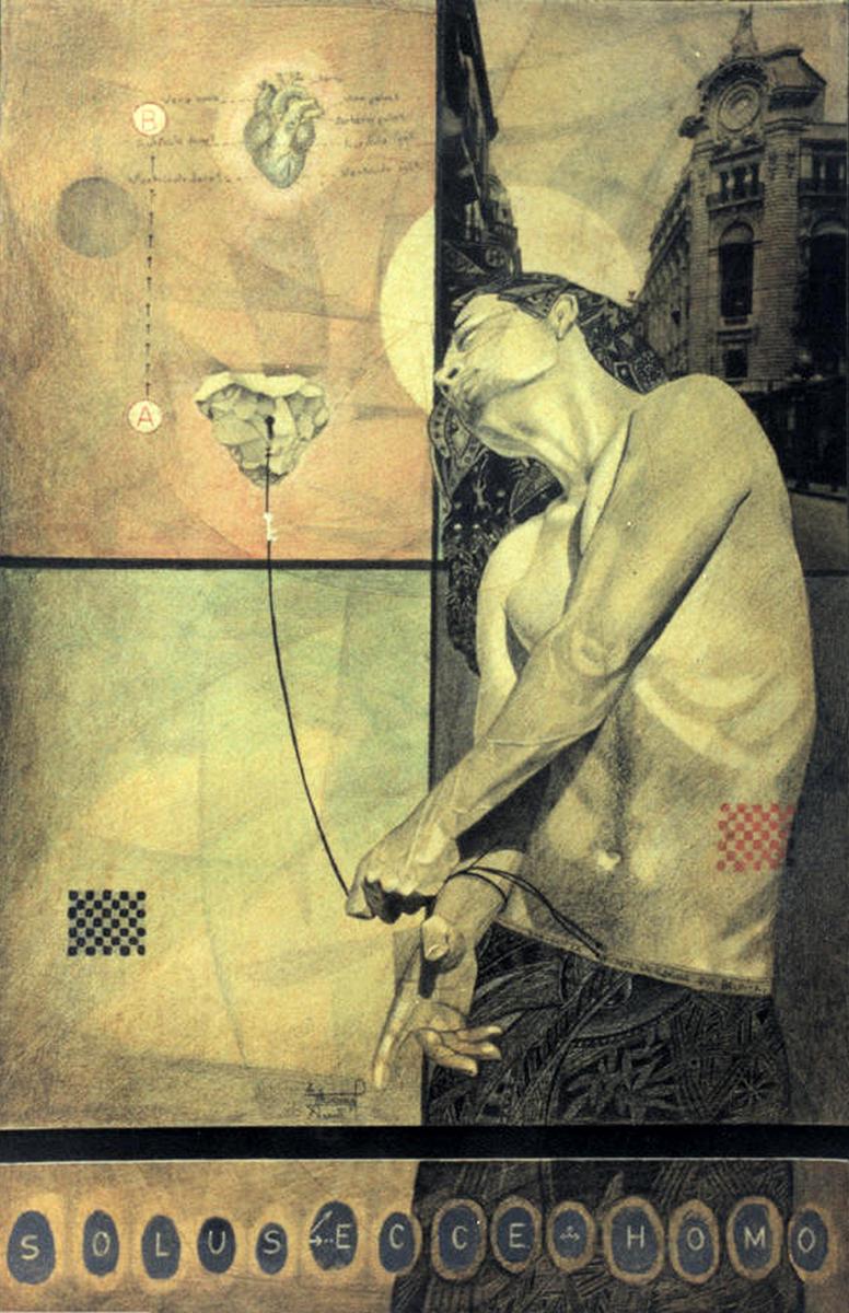 Solus ecce hommo - Alex Cuchilla - El Salvador