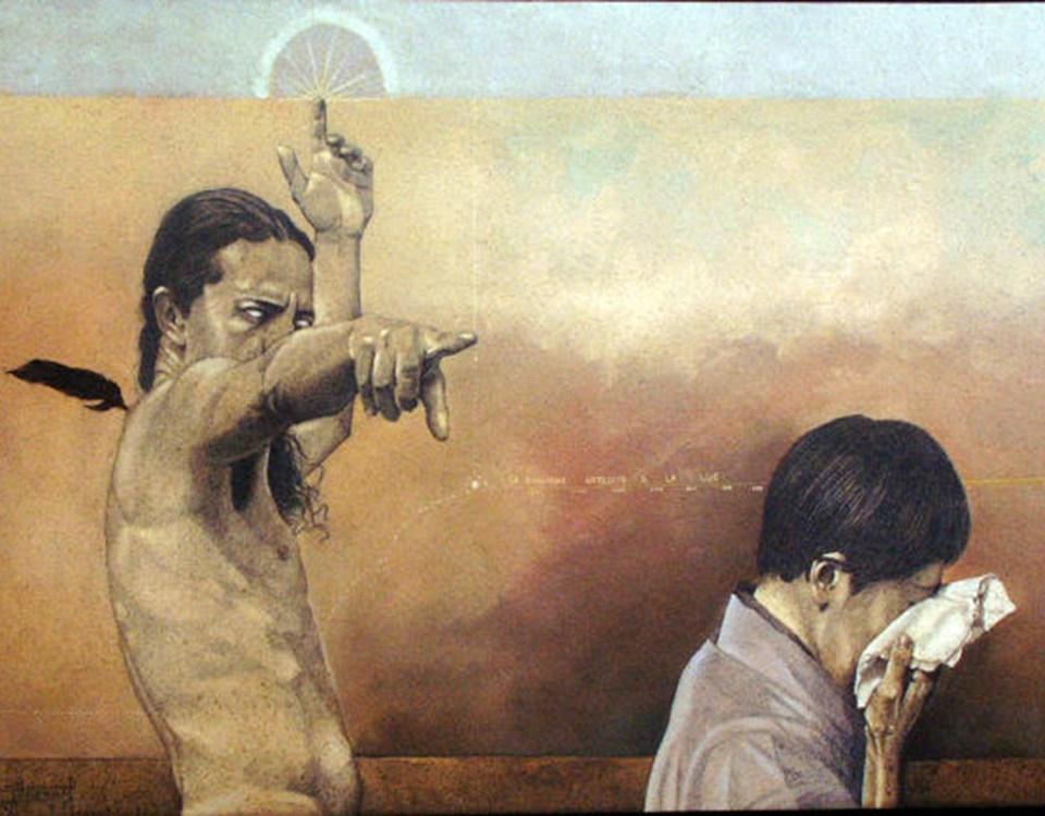 EL EXILIO - Alex Cuchilla - El Salvador