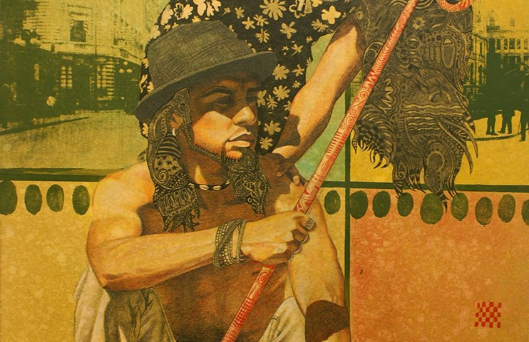 Tránsito perpetuo (La Tentación) Alex Cuchilla - El Salvador