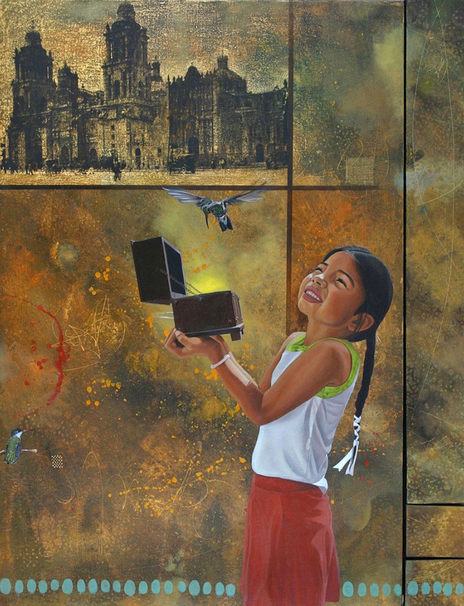 Cofre espiritual (políptico) - Alex Cuchilla - El Salvador