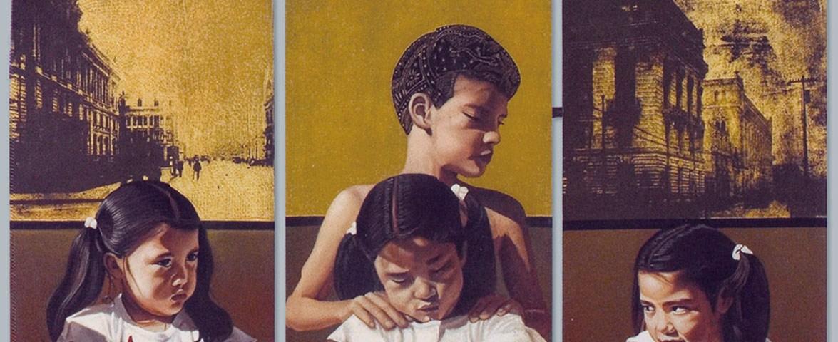 El Intercambio 1 (políptico) - Alex Cuchilla - El Salvador