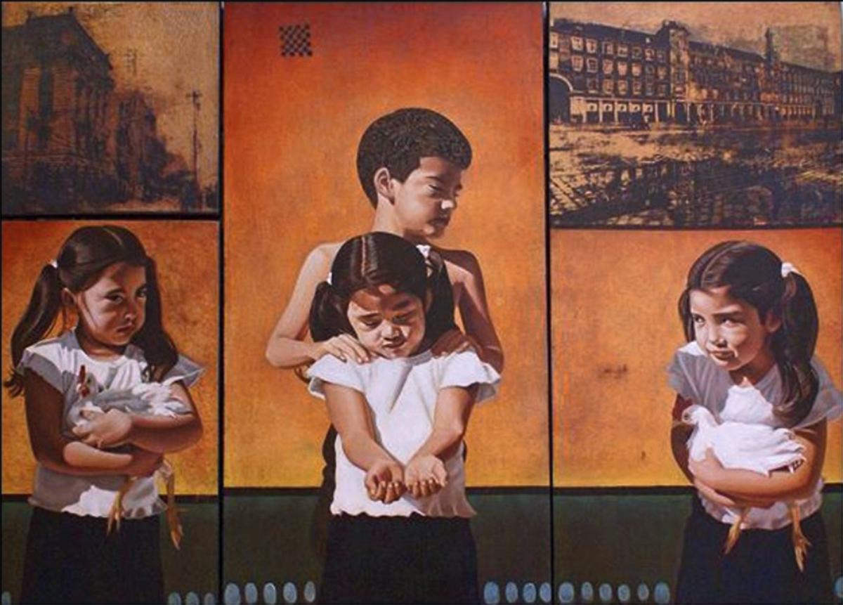El Intercambio 2 (políptico) - Alex Cuchilla - El Salvador