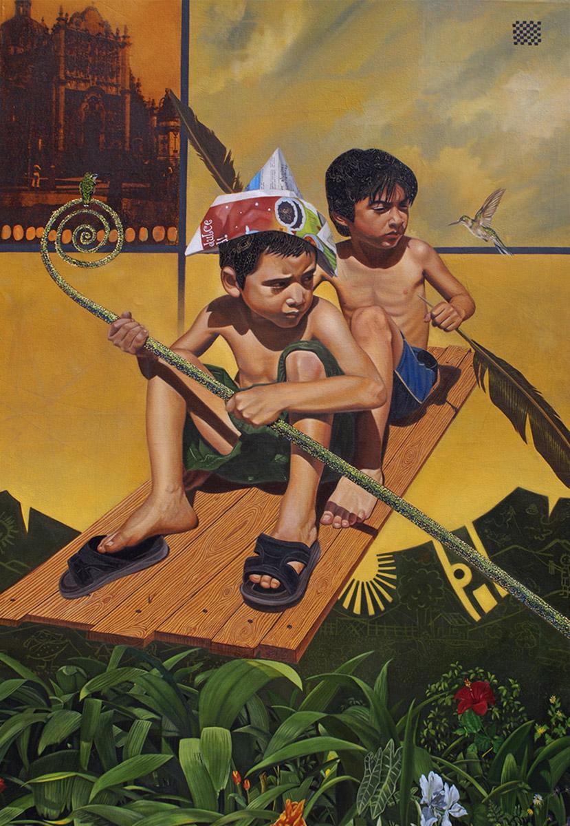 El ancho mar de mi jardín - serie ciudades sumergidas - Alex Cuchilla - El Salvador