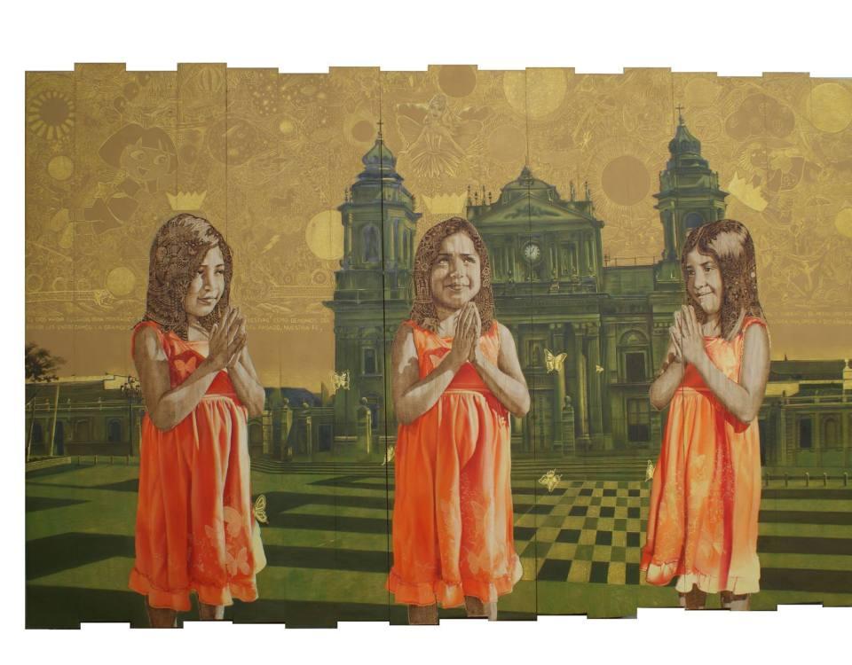 Las tres divinas personas - Alex Cuchilla - El Salvador