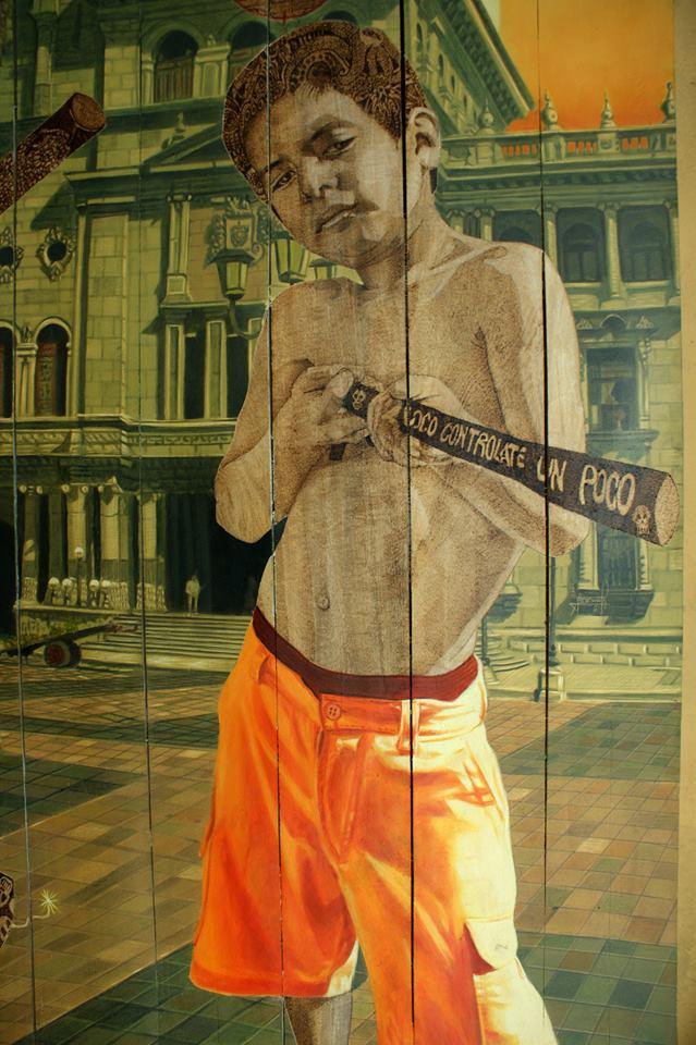 Entre caníbales detalle 2 - Alex Cuchilla - El Salvador