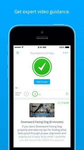Lift App Screenshot