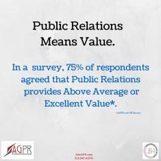 PR Means Value