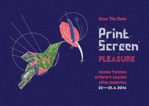 PRINT Screen-Save The Date