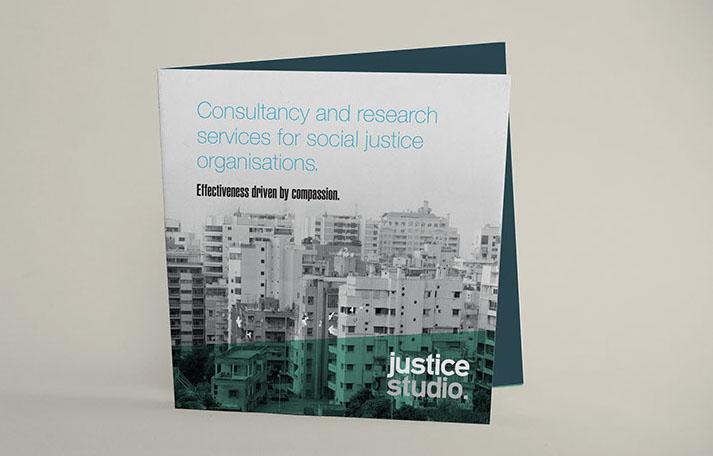 Justice Studio brochure - studio brochure