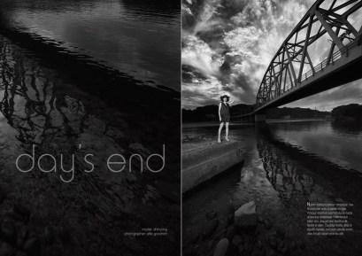 Shinyong by the bridge: Miyazaki, Japan