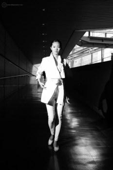 Fashion shoot at Tokyo International Forum