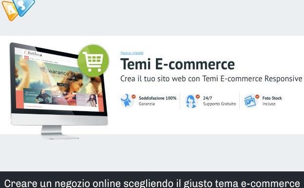Creare un negozio online scegliendo il tema e-commerce giusto