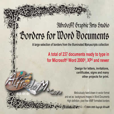 Borders for Word Documents
