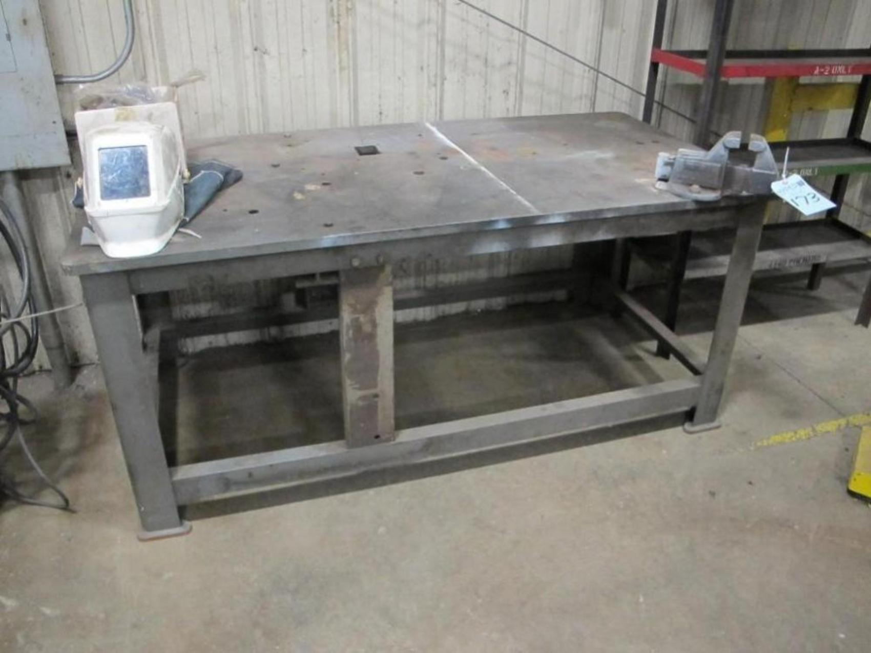 Awesome 1quotthick 339x 639welding Table Vibratory Table Base W