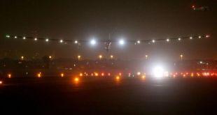 طائرة الطاقة المتجددة سولار امبلس تنهي جولتها حول العالم