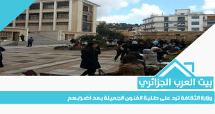 وزارة الثقافة ترد على طلبة الفنون الجميلة بعد اضرابهم
