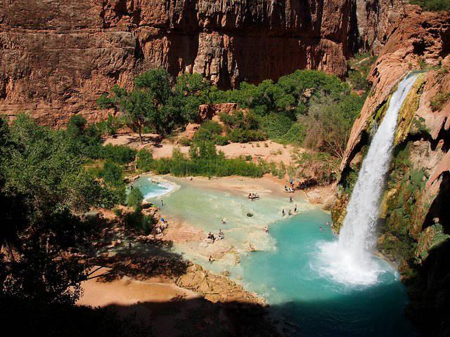 Havasu Falls Wallpaper Les 8 Plus Belles Cascades Du Monde Selon Le Guide Algofly